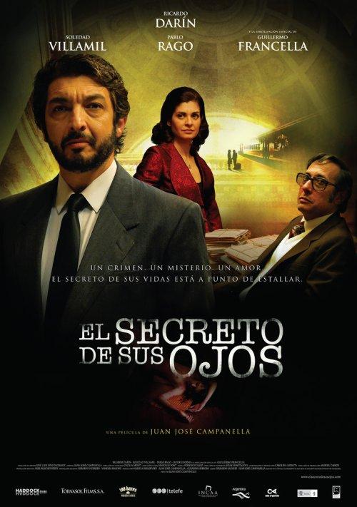 FIN DE SEMANA DEL 23 AL 25 DE OCTUBRE DEL AÑO 2009 El-secreto-de-sus-ojos-Poster
